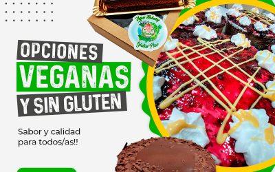 Nueva línea: tartas veganas y sin gluten